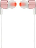 Наушники-гарнитура JBL T210 (розовое золото) -
