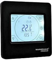Терморегулятор для теплого пола Warmehaus TouchScreen WH 92 (черный) -