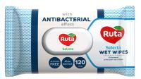 Влажные салфетки Ruta Selecta с антибактериальным эффектом (120шт) -