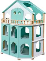Кукольный домик Лесная мастерская Семейная усадьба / 4756545 (мятный) -