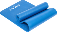 Коврик для йоги и фитнеса Sundays Fitness LKEM-3006B (183x61x1.5см, голубой) -