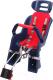 Детское велокресло SunnyWheel SW-BC-137 / X69808 (черный/красный) -