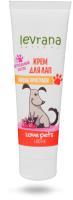 Средство для ухода за лапами животных Levrana Love Pets Крем для лап после прогулки (100мл) -