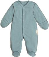 Комбинезон для младенцев Amarobaby Nature / AB-OD20-NM3/34-56 (мятный, р. 56) -