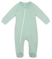 Комбинезон для младенцев Amarobaby Nature / AB-OD21-NМ304/34-56 (мятный, р. 56) -