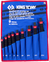 Набор выколоток King TONY 1009GPN (9 предметов) -