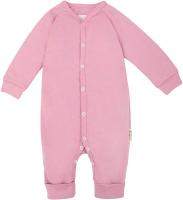 Комбинезон для младенцев Amarobaby Nature / AB-OD21-NZ5/06-68 (розовый, р. 68) -