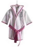 Халат детский Kidboo Little Farmer (р. 3, хлопок/розовый) -