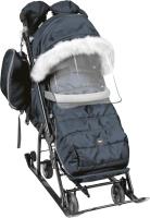 Санки-коляска Ника Детям НД7-5SK/6 (графитовый) -