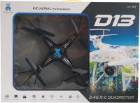 Квадрокоптер Ai Jia Toys AS-D13 (черный) -