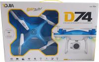 Квадрокоптер YDJIA AS-D74 (синий) -