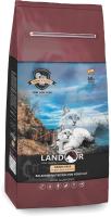 Корм для кошек Landor Для взрослых кошек с индейкой с бататом / 7843126 (10кг) -