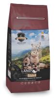 Корм для кошек Landor С избыточным весом и стерилизованных кролик с рисом / 7843127 (10кг) -