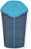 Конверт детский Altabebe Alpin Pram & Car Seat / AL2009P (темно-серый/синий) -