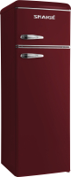 Холодильник с морозильником Snaige FR26SM-PRDO0E -