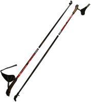 Палки для скандинавской ходьбы STC Extreme (110см, красный) -