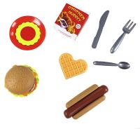 Набор игрушечных продуктов Qunxing Toys Фастфуд / 2020-6B -