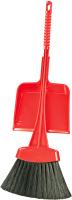 Набор хозяйственный игрушечный Альтернатива Мини. Веник и совок мягкий / М2174 -