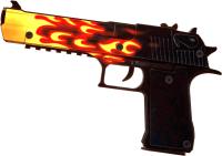 Пистолет игрушечный VozWooden Active Desert Eagle Пламя / 2002-0502 -