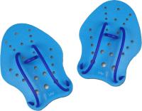 Лопатки для плавания Indigo PD-1 (L, синий) -