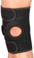 Суппорт колена Indigo IN195 (черный) -