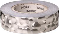 Обмотка для гимнастического снаряда Indigo 3D Bubble IN155 (серебряный) -