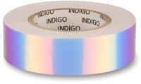 Обмотка для гимнастического снаряда Indigo Rainbow IN151 (белый/фиолетовый) -