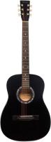 Акустическая гитара Terris TF-380A BK -