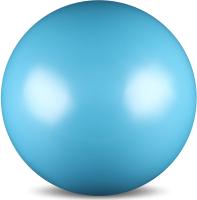 Мяч для художественной гимнастики No Brand Металлик AB2803 (голубой) -