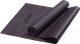Коврик для йоги и фитнеса Starfit FM-101 PVC (173x61x0.3см, черный) -