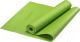 Коврик для йоги и фитнеса Starfit FM-101 PVC (173x61x0.4см, зеленый) -