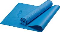 Коврик для йоги и фитнеса Starfit FM-101 PVC (173x61x0.4см, синий) -