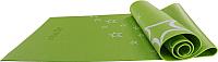 Коврик для йоги и фитнеса Starfit FM-102 (173x61x0.3см, зеленый) -