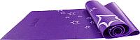Коврик для йоги и фитнеса Starfit FM-102 (173x61x0.3см, фиолетовый) -