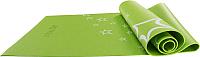 Коврик для йоги и фитнеса Starfit FM-102 (173x61x0.4см, зеленый) -