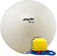 Фитбол гладкий Starfit GB-102 (55см, белый) -