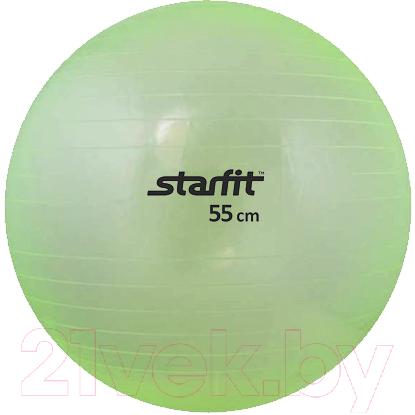 Купить Фитбол гладкий Starfit, GB-105 (55см, зеленый), Китай, ПВХ