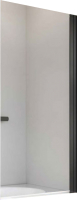 Стеклянная шторка для ванны Radaway Nes Black PNJ I 80 R / 10011080-54-01R -