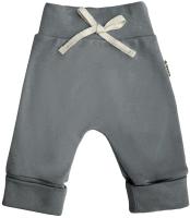 Штаны для младенцев Amarobaby Nature / AB-OD21-NG6/10-56 (серый, р. 56) -