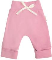 Штаны для младенцев Amarobaby Nature / AB-OD21-NZ6/06-56 (розовый, р. 56) -