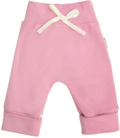 Штаны для младенцев Amarobaby Nature / AB-OD21-NZ6/06-74 (розовый, р. 74) -