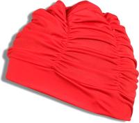 Шапочка для плавания Спортивные мастерские Lucra / SM-092 (красный) -