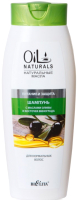 Шампунь для волос Belita Oil Naturals маслами Оливы и Косточек Винограда для норм волос (400мл) -