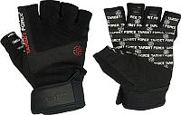 Перчатки для пауэрлифтинга Starfit SU-118 (S, черный) -