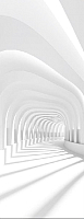 Фотообои листовые Citydecor Пространство 3D (100x254) -
