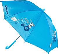 Зонт-трость Котофей 03707017 (голубой) -
