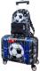 Детский чемодан DeLune Lune-004 + рюкзак -