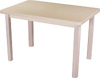 Обеденный стол Домотека Альфа ПР-М (бежевый/молочный дуб/04) -