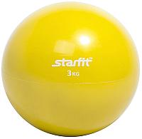 Медицинбол Starfit GB-703 (3кг, желтый) -