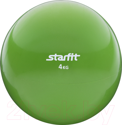 <b>Starfit GB</b>-<b>703</b> (4кг, зеленый) <b>Медицинбол</b> (набивной мяч) 18 см ...